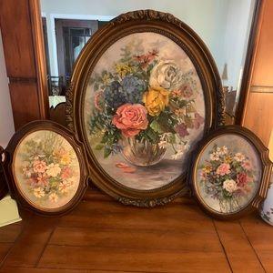 Oval Victorian Garden oil paints